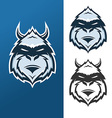 Yeti mascot for sport teams vector image vector image