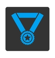 Winner medal icon from Award Buttons OverColor Set vector image