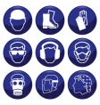 construction icons vector image