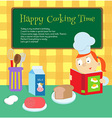 magic cooking time vector image