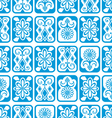 Tile ornament vector image