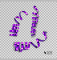 set of colorful ribbons for your design vector image