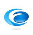 business circle abstract logo vector image