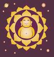 spring Lotus Buddah yantra vector image