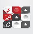 Infographic Design modern Vintage Labels vector image