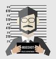 Mugshot Of Businessman vector image