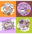 Breakfast Design Concept vector image