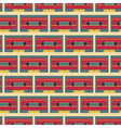 casette pattern vector image