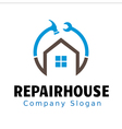 Repair House Design vector image