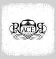 racer vector image