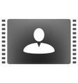 user profile web icon vector image