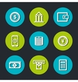 banking and finances design vector image