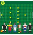 World Cup 2014 Group C vector image