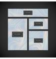 Corporate identity template Branding design vector image