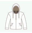 Hoodie Jacket vector image