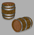 the barrel vector image