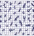 copybook pattern vector image