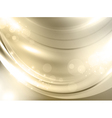 abstract golden holiday background vector image