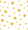 Sequins on white background vector image