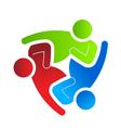 Business logo design helping 3 vector image