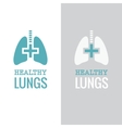 Healthy Lungs vector image