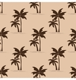Palm trees seamless pattern vector image