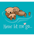 Never let me go vector image