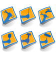 icons set for repair vector image vector image