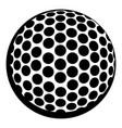 golf ball icon icon cartoon vector image