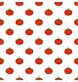 Tomato pattern cartoon style vector image