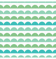 green blue scallops stripes seamless repeat vector image