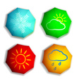 Seasons Stock vector image
