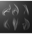 Match smoke vector image