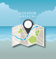gps location vector image