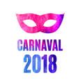 popular event brazil carnival in south america vector image