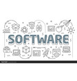 lines template software vector image