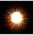 Powerful Explosion vector image