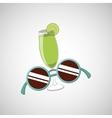 retro party icon design vector image