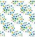 Seamless variegated polka dot pattern EPS10 vector image