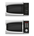 microwave oven 03 vector image vector image