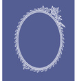 The frame of the elements of abstract lace vector image