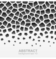 Abstract grayscale geometric pattern vector image