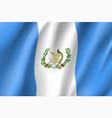 flag guatemala realistic icon vector image
