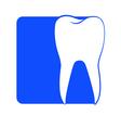 dentistry logo 3 vector image vector image