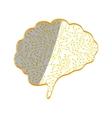 Human brain mind vector image