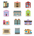 Buildings and houses vector image