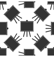 Chalkboards icon pattern vector image