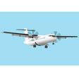 Regional airplane vector image