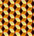 Cubes - background vector image vector image