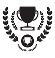 Win Cup Icon Winning Award Symbol Pictogram vector image